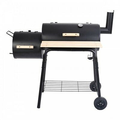 Outdoor Grill Charcoal Pit Smoker Grilling Portable   Camping Backyard Events