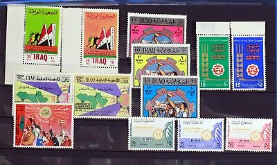 Iraq Iraq 1969 Set Of Stamps Mnh New 88M828