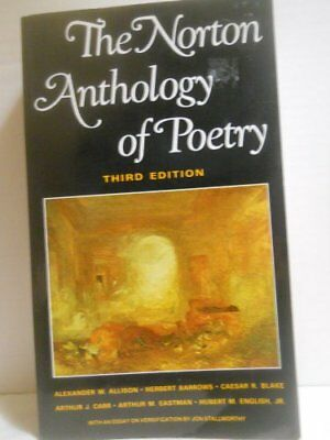 Norton Anthology of Poetry Book The Cheap Fast Free Post