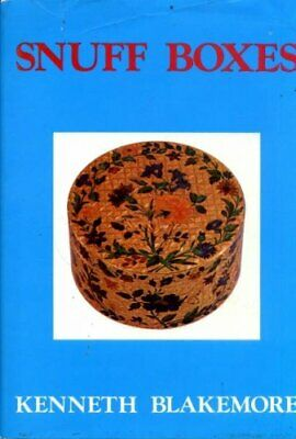 Snuff Boxes by Blakemore, Kenneth Hardback Book The Cheap Fast Free Post
