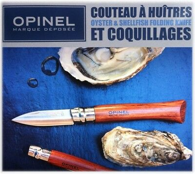 OPINEL No 9 OYSTER & SHELLFISH FOLDING KNIFE in PAPER BOX