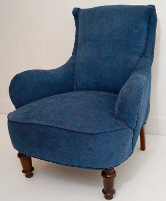 A Newly Upholstered Antique Nursing / Bedroom Chair