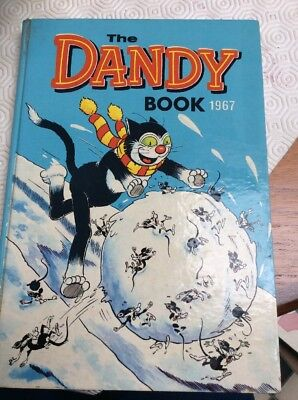 The Dandy Book 1967. Comic Annuals & 1971 Dandy annual Free Postage