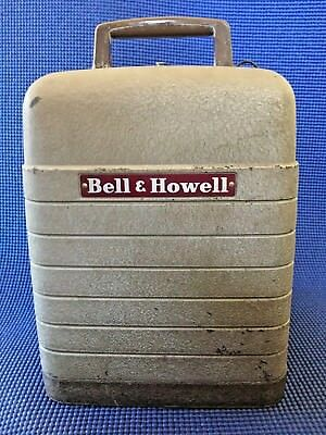 Vintage Bell and Howell 253-A 8mm Portable Projector with Good Working Bulb