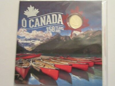 2017 Canada Uncirculated Set, 5 coins, special gift set mint package, Oh Canada