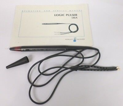 Vintage HP Hewlett Packard 546A LOGIC PULSER with Serving Operating Manual