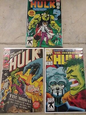 Incredible Hulk Comic book lot Marvel Comics