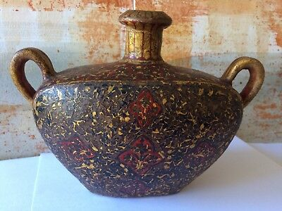 Kopi Vase Handmade Made for the Vatican - Over One Hundred Years Old. (Pakistan)