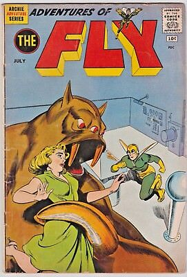 Adventures of the Fly   13  --  1961 - 1st Kim Brand! -- --  VG+  cond.