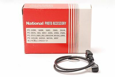 @ Must for Vintage Flash Lights @ National Synchro Cord PP-SA / P3 from Japan