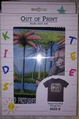 7a748ed6 OUT OF PRINT Kids' t-shirt- Where the Wild Things Are, Size 8, New ...
