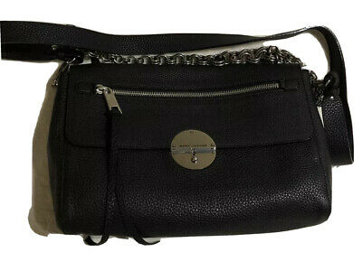 9bb7c9e49fa6 MARC JACOBS Made In Italy Gotham Shoulder Bag Authentic NWT Black MSRP 1495