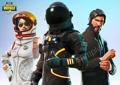 Fortnite new Battle Royale Poster  SIZE A3  Free Postage
