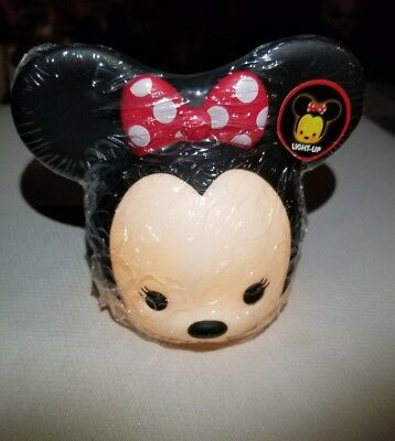 disney junior night light home Minnie mouse mini light up head red bow