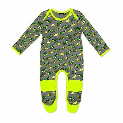 VR46 Official Valentino Rossi Grey Turtles Baby Overall Suit - VRKOA 308903