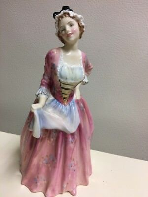 "Vintage Royal Doulton Mary Jane HN1990 Bone China Figurine 7.75""x 3.75"""