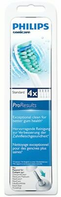 4 x Philips Sonicare HX6014 ProResults Toothbrush Heads