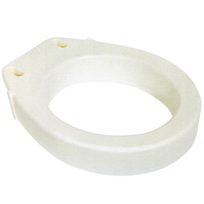 NEW Elongated Toilet Seat Riser - Easy Installation - Raises Your Seat 3.5""