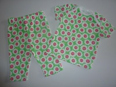 Little Girls FLOWER PJ's