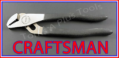 """CRAFTSMAN TOOLS 7"""" Adjustable Tongue & Groove ARC JOINT pliers MADE IN USA"""