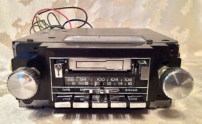 Vintage Gm Delco Am Fm Radio Car Stereo Cassette Tape Player Model Gm 2700