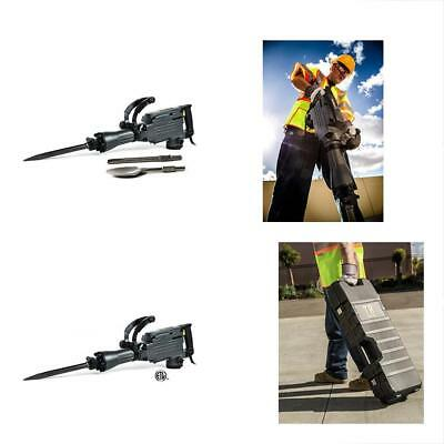 TR Demolition Drills Industrial TR89100 Electric Jackhammer With Point, Flat And