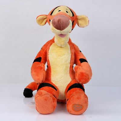 Disney Winnie the Pooh Bouncing Tigger Plush Doll Stuffed Toys Gift - 15 In