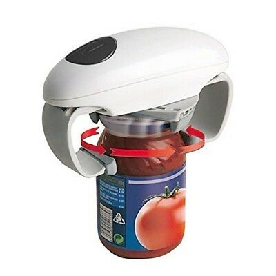 Outdoor Picnic Kitchen Automatic Electric Can Opener One Touch Tin Jar Openers