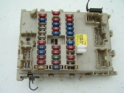 2005 NISSAN ALMERA fuse box cover - £12.00 | PicClick UK on
