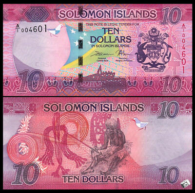 Salomonen / Solomon Islands 10 Dollars, 2017, P-NEW,UNC