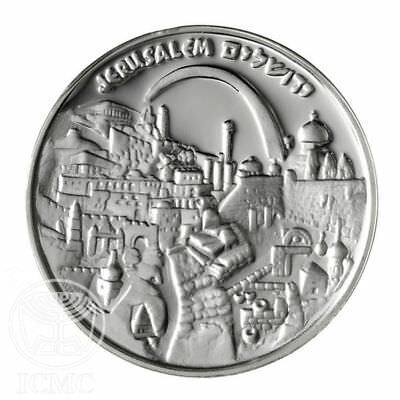 My Jerusalem Medal 1996 Silver Medals Collectible Gift Commemorative