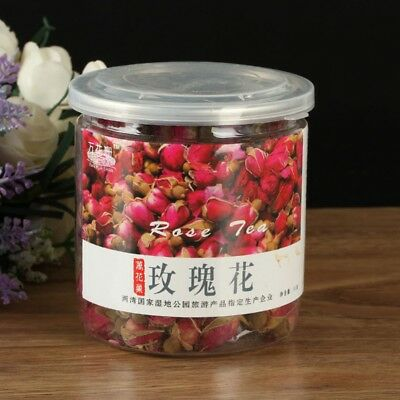 100g Organic Red Rosebud Rose Buds Flower Floral Herbal Dried Chinese Tea Pro