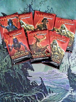 HOUR OF DEVASTATION - 2 (TWO)  Booster packs - REPACKS - MTG