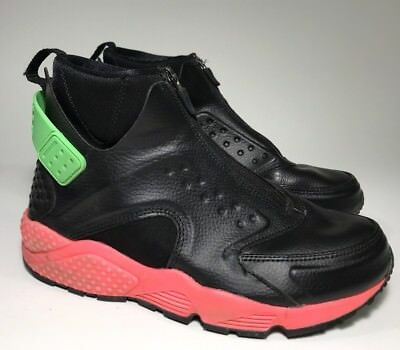 "huge discount 23bf6 0c906 NIKE AIR HUARACHE Run Mid ""Hot Punch"" US 7.5 [807313-003]"