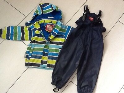 M L Xl Xxl Angelsport ██▓▒░ North Regenanzug Set Regenjacke Regenhose Gr