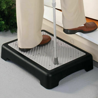 Anti-Slip Outdoor Half Step Stool Elderly Disability Door Walking Mobility Aid