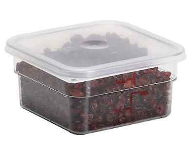 Cambro SFC6SCPP190 CamSquare 6 and 8 Qt Food Storage Container Lids
