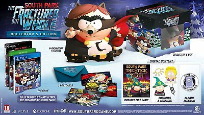 South Park: The Fractured But Whole Collector's Edition (PS4) BRAND NEW SEALED