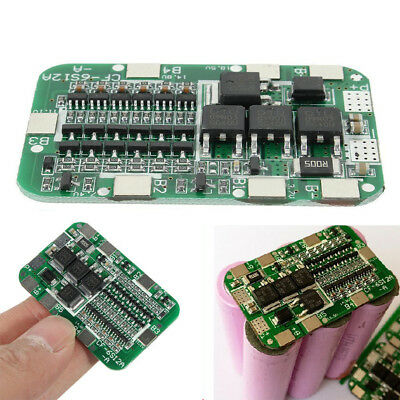 6S 15A BMS Protection PCB Board For 6 Packs Li-ion Lithium 18650 Battery BBC