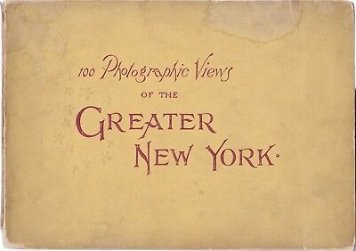 1897 Vtg Views New York City Brooklyn Borough Historical Photograph Architecture