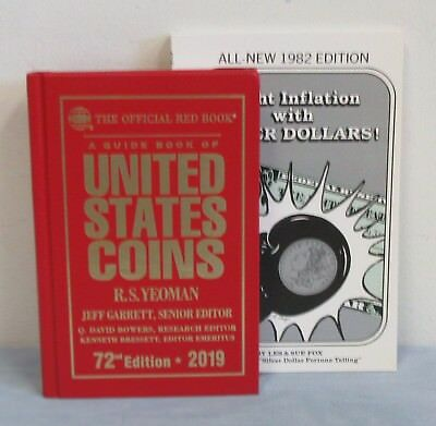 Hardcover 2019 RED BOOK + Free 1982 Fight Inflation with Silver Dollars Book
