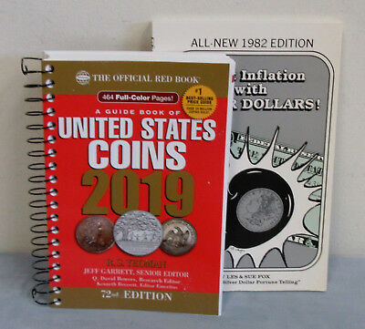Softcover 2019 RED BOOK + Free 1982 Fight Inflation with Silver Dollars Book