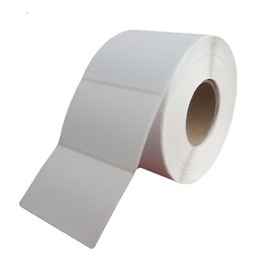 2000 Paper Security Labels 1.5x1.5 in. RF 8.2MHZ White EAS Checkpoint Compatible