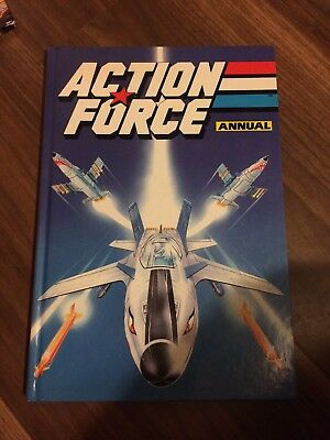 Action Force Annual 1990 Good Condition