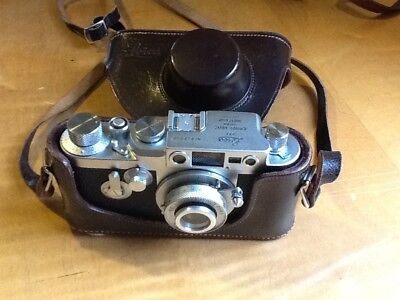 LEICA  IIIg,1957 ( One for the collector ) w/5cm lens, both A1 MINT condition