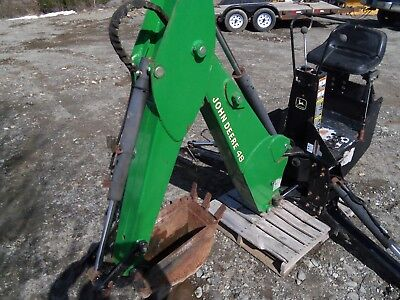 John Deere Backhoe Attachment >> John Deere 48 Backhoe Attachment Jd Back Hoe 4 450 00 Picclick