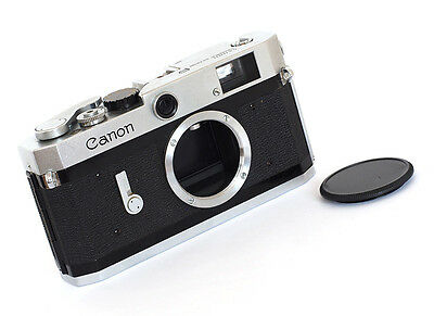 CANON P RANGEFINDER - EARLY 1960s - EXCELLENT!