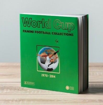 World Cup Panini Football Collections 1970 to 2014 - includes 12 Panini Albums