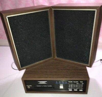 Vintage Columbia 8 Track Stereo Player JAPAN With Two Speakers! Clean!