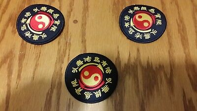 "3/"" P1158 JKD Ying Yang Martial Arts Patch"